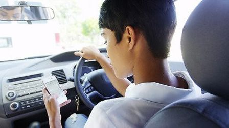 Drivers using a hand-held mobile phone face double the punishment from next Wednesday. Picture suppl