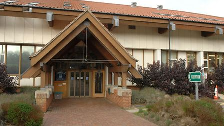 North Norfolk District Council headquarters in Holt Road, Cromer.