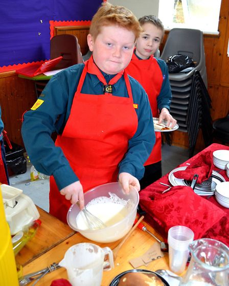 Lowestoft and District Scouts Cookery Competition. 4th Lowestoft. Pictures: MICK HOWES