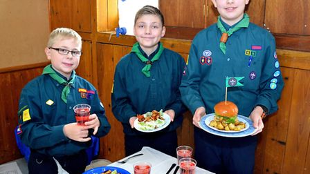 Lowestoft and District Scouts Cookery Competition. 2nd Carlton Colville. Pictures: MICK HOWES