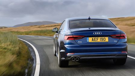 Redesigned Audi A5 has a more purposeful look but hasn�t lost its premium image. Picture: Audi