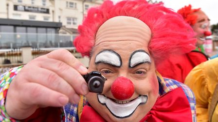 Clowns from all over the British Isles return to Lowestoft for the Town's annual Clown convention.