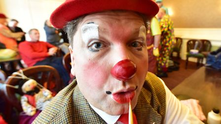 Clowns from all over the British Isles return to Lowestoft for the Town's annual Clown convention. B