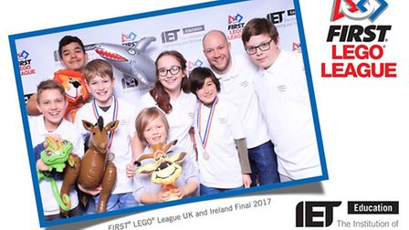 The Neatherd team NeXT at the FIRST Lego League final in Bristol. Picture: Institution of Engineerin