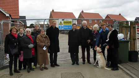 The church walk around Acle Picture John Kenny