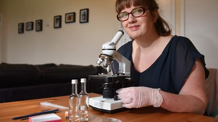 Jessica Suter is organising the science day. Picture: Sonya Duncan