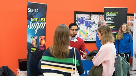 The annual careers fair at Lowestoft Sixth Form College. Picture: James Battershill