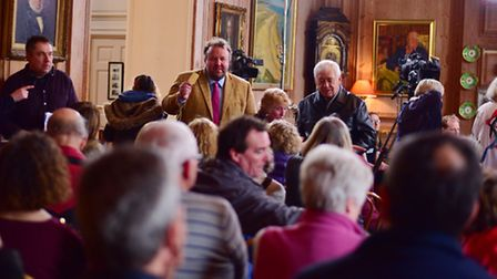 Hundreds of people visited Glemham Hall, last week, to get their treasures valued for TV programme F