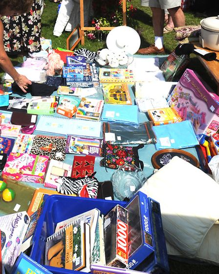 A car boot sale in Ipswich (Photo: Andy Abbott 2011)