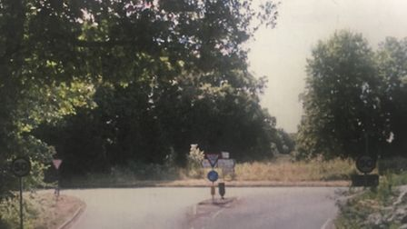 The junction of Shortthorn Road and Holt Road. Picture: Norfolk Coroner's Court