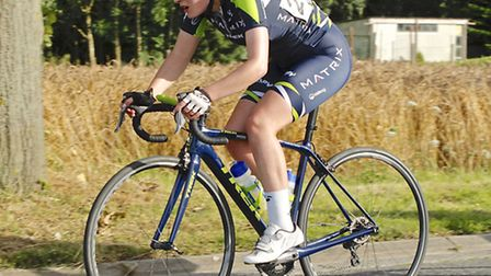 Young Norfolk Sports Academy member Isla Rush in Belgium last summer. Picture: Submitted