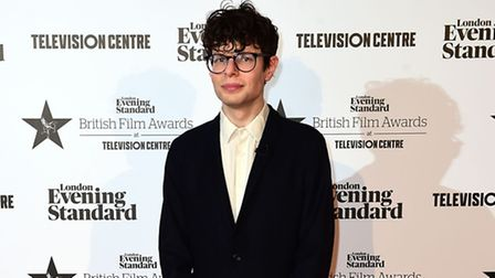 Simon Amstell at the London Evening Standard British Film Awards at the Television Centre, White Cit