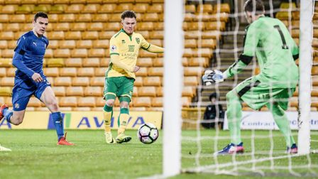 Glenn Middleton lashed a shot in off the post less than three minutes after coming on for Norwich Ci