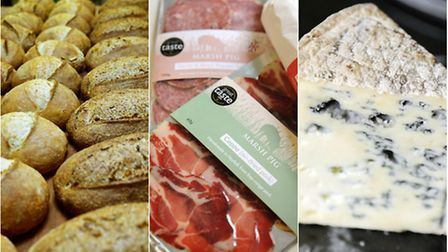 A selection of local produce. Photos by Anthony Kelly, James Bass and Matthew Usher.