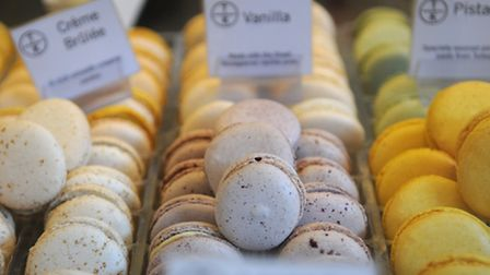 Macarons and More. Picture: ANTONY KELLY