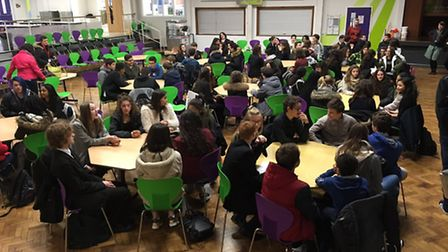 More than 60 students from a high school in Yarmouth's twin town of Rambouillet experience their fir