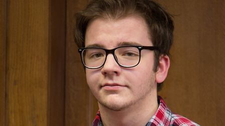 Paston College student Jacob Alexander is celebrating the publication of his first novel. Picture: P