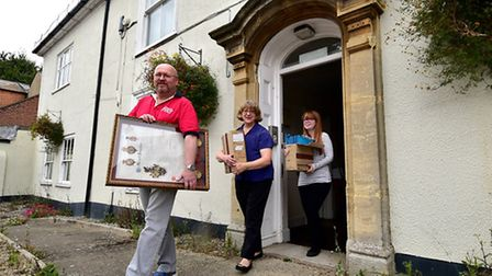 North Walsham Town Council moving out from the old town hall. Picture: ANTONY KELLY