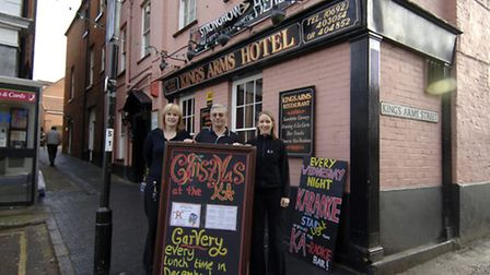 The Kings Arms Hotel will be playing host to the town's information centre. Picture: ARCHANT