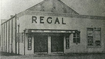 The Regal on its opening day. March 18 1937. Photo supplied by Philip Yaxley