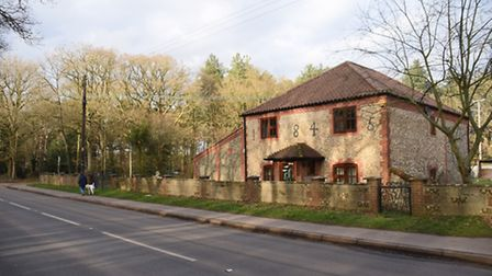 The former Flagcutters pub which is to be demolished for access to the new 259 home development at H