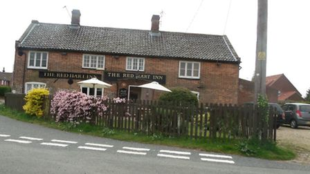The Red Hart, Bodham: Picture: Alastair Gray
