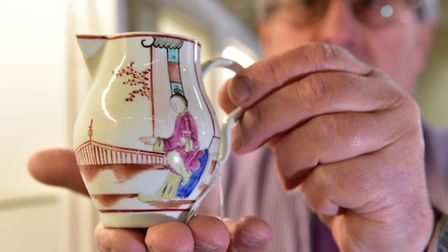 A private collection of Lowestoft porcelainis set be auctioned at Durrants, Beccles.Mark Whistler w