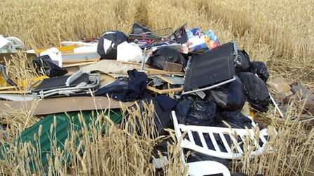 Fly-tipping at Somerton