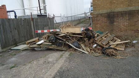 Fly-tipping problems in Great Yarmouth