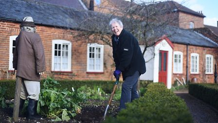 Gressenhall Farm and Workhouse re-opens to the public this Sunday. Pictured is Lynne Wright. Picture