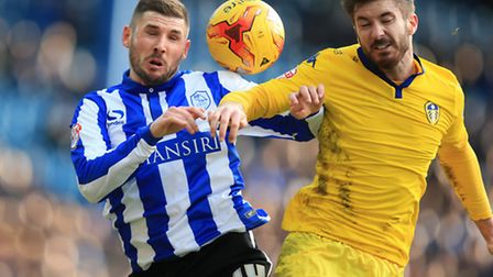 Former Norwich City striker Gary Hooper has struggled to force his way into the Owls' line up. Pictu