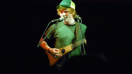 Picture of the Next Big Thing semi-finals at The Brickmakers pub in Norwich. Pictured is Ed Sheeran