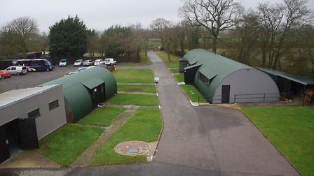 The 100th Bomb Group Museum at Thorpe Abbotts. Picture: DENISE BRADLEY