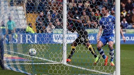 Cameron Jerome headed his 12th goal of the season. Picture: Paul Chesterton/Focus Images Ltd