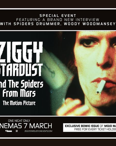 Ziggy Stardust and the Spiders from Mars is now back in cinemas as part of a special one-off event i
