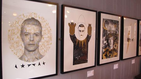 David Bowie: Scary Monsters and Super Creeps exhibition at the Abbeygate Cinema, staged by the Off T