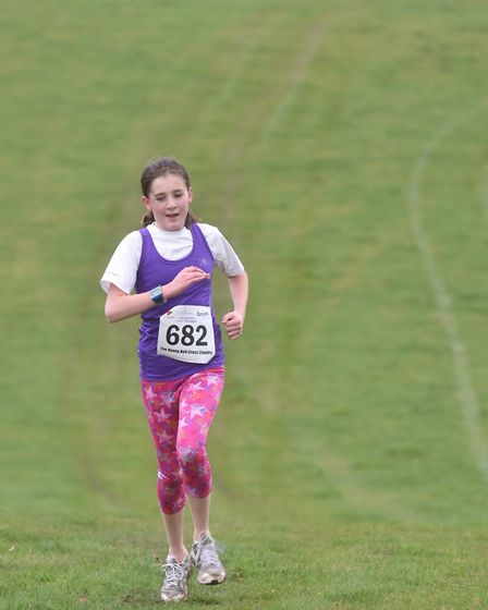 Hundreds of runners took part in the 11th annual Hunnybell Cross Country race on the Stody Estate, n