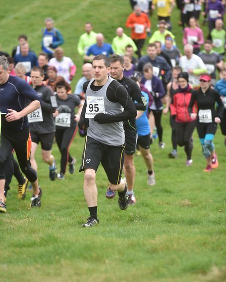 The Hunny Bell Cross Country Race on the Stody Estate in aid of the Break charity. Byline: Sonya Dun