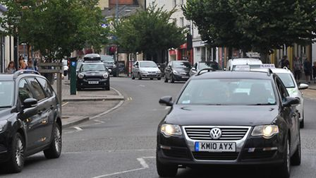 Prince of Wales Road in Norwich. Picture: SIMON FINLAY