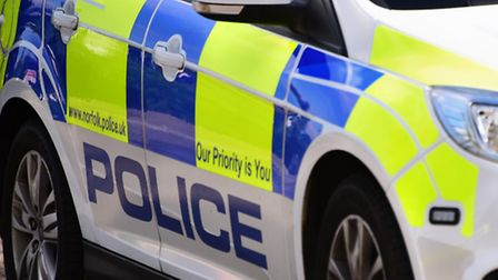 Norfolk police officers were called after a Vauxhall Astra was called to a car abandoned in a Necton