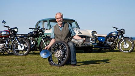 Classic motorbikes can join the Centre 81 charity run and show for the first time this year. The cen