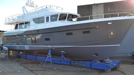 North Walsham based Windboats Marine has completed the construction of its largest ever yacht the Ma