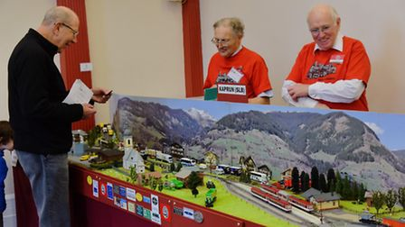 The Norfolk and Suffolk Narrow Gauge Modellers group hold their annual exhibition. Picture: Sonya Du