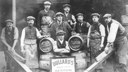 Bullards Brewery workers. Photo: Archant Archive