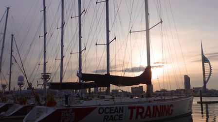 Sandra Squire, a West Norfolk councillor, is training for the next Clipper Round the World Race.