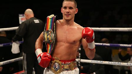 Liam Walsh will fight Gervonta Davis for the IBF super-featherweight title in May. Picture: PA