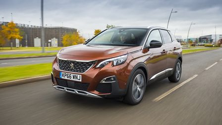 Peugeot 3008 is the first sport utility vehicle to win European Car of the year. Picture: Peugeot