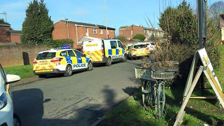 Emergency services called to assist with a 'medical episode' outside Norwich prison. Picture: LYNNIE