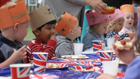 Last year, the Lowestoft College Nursery held a garden party in honour of the Queen's 90th birthday.
