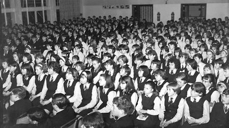A class act: Turning up smart in school uniform was one of the ways that Sharon Griffiths helped pol